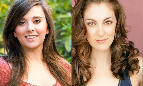 Eastman graduates Natalie Ballenger, left, and Diana Rose Becker are finalists in the 2014 Lotte Lenya Competition.