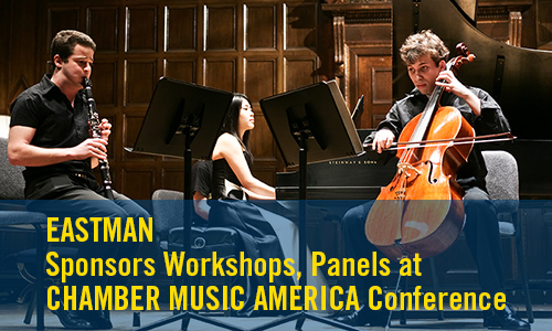 pre-conference workshop and panels at Chamber Music American Conference 2015