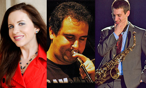 Jennifer Bellor, Paulo Perfeito, and Marc Schwartz are winners of DownBeat Student Music Awards.