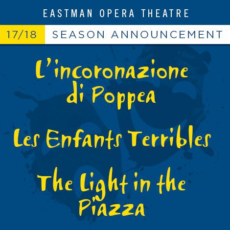 Eastman opera theatre announces new season eastman school of music the blueprint for future operas a late 20th century dance opera a 21st century musical that brought classical music elements back to broadway three malvernweather Images