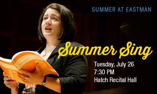 Summer Sing July 26, 2016