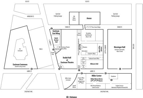 ESM Campus Map