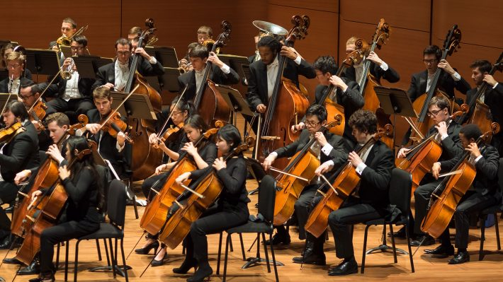 The Eastman Philharmonia Performing in Alice Tully Hall, NYC