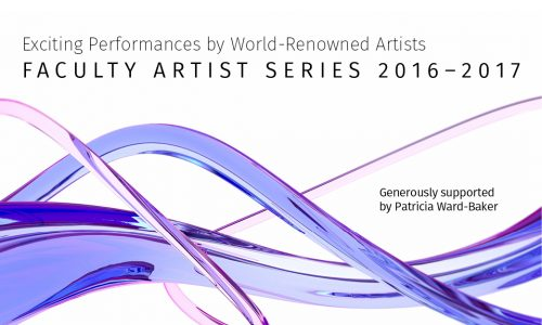 Faculty Artist Series 2016-2017