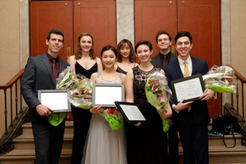 Winners in the 2020 Friends of Eastman Opera Voice Competition