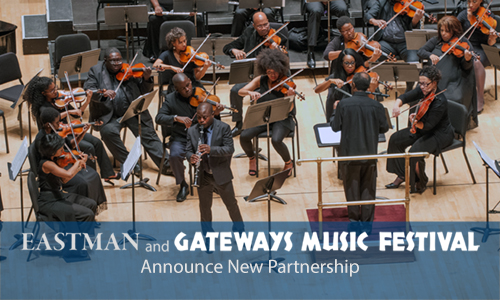 Gateways Music Festival, Kodak Hall, Eastman School of Music, University of Rochester, Rochester, NY. Photo by Keith Bullis, media services manager, Eastman Institute for Oral Health, http://www.rochester.edu
