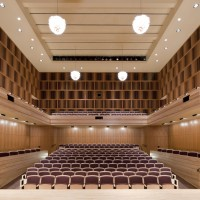 Hatch Recital Hall - view from stage