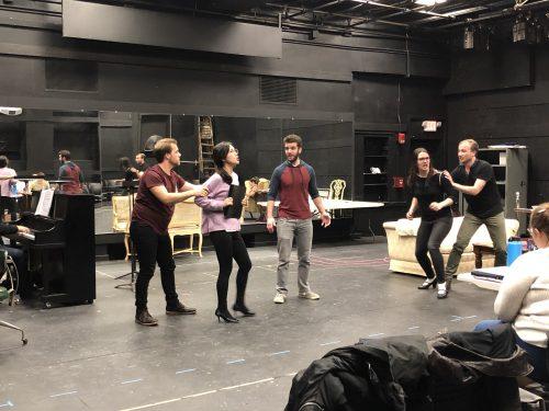 Eastman Opera Theatre rehearsal