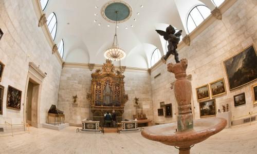 Italian Baroque Organ at the Memorial Art Gallery