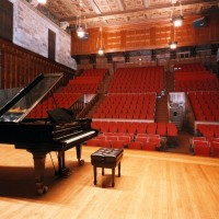 Kilbourn Hall stage view