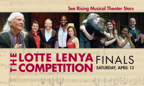 Lotte Lenya Competition 2013