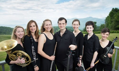 Ensemble of Eastman musicians for Music in the American Wild project 2016