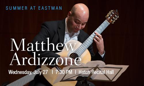 Matthew Ardizzone Classical Guitar July 27, 2016
