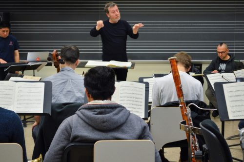 Brad Lubman Conducting Musica Nova
