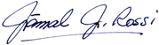 Image of Jamal J. Rossi's Signature