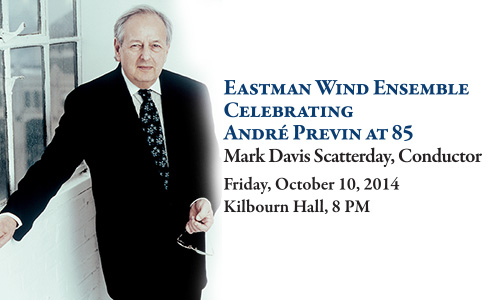 Eastman Wind Ensemble Celebrates Andr Previn With World Premiere