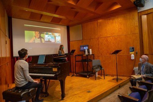 Graduate Voice Repertoire class