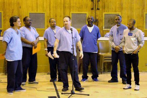 George Motchan Detention Center music program photo