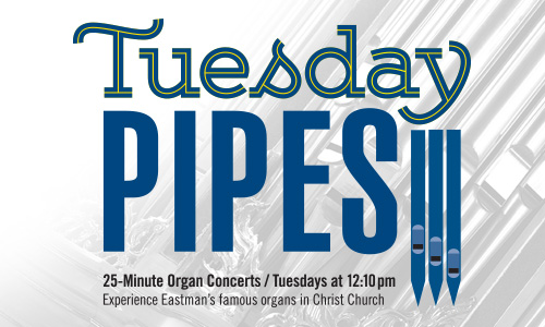 Tuesday Pipes Organ Concerts