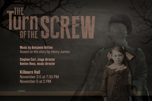 "Eastman Opera Theatre will perform ""The Turn of the Screw"""