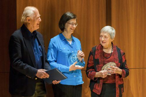Walter Verdehr, Sylvia Roederer and Elsa Ludewig-Verdehr