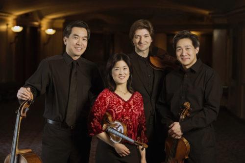 Ying Quartet outside Kodak Hall photo