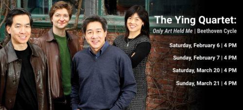 Ying Quartet Beethoven Cycle program dates