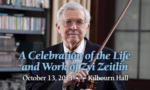 Zvi Zeitlin Tribute Concert
