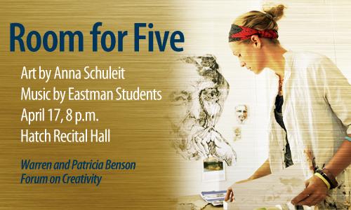 Warren and Patricia Benson Forum on Creativity