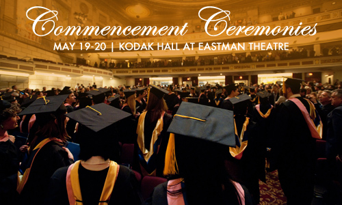 Commencement May 19-20, 2012
