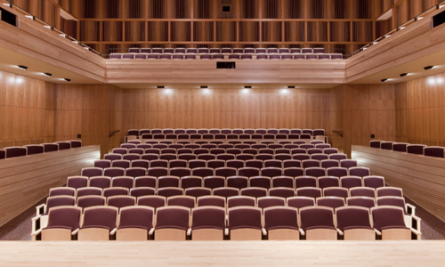 Hatch Recital Hall Seats