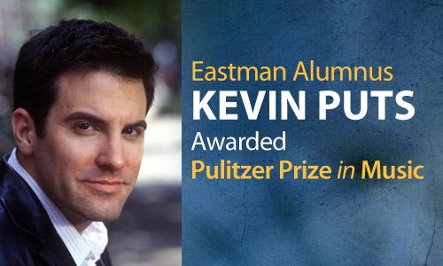 Kevin Puts Wins Pulitzer Prize