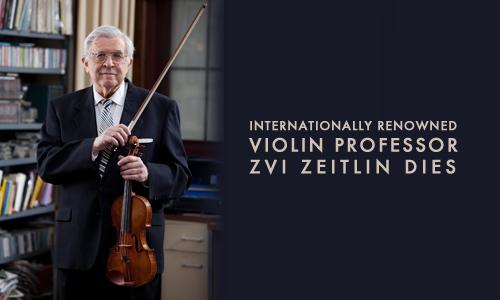 Professor Zvi Zeitlin Dies